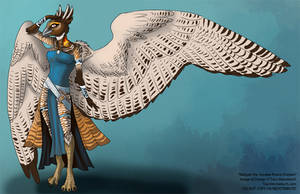 [closed] Maliyah the Greater Prairie Chicken by Ulario