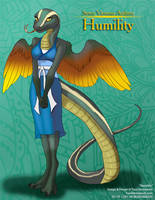 [Auction] 7 Virtuous Anthros: Humility by Ulario