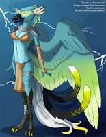 [Character Auction] Ahyoka The Thunderbird by Ulario