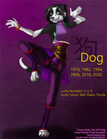 [Character Auction] Chinese Zodiac: Dog by Ulario