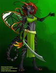 [Auction] Glasswing Faerie Dragon