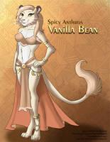 [Character Design] Spicy Anthros: Vanilla Bean by Ulario