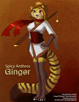 [Character Auction] Spicy Anthros: Ginger by Ulario