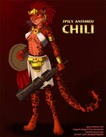 [Character Auction] Spicy Anthros: Chili by Ulario