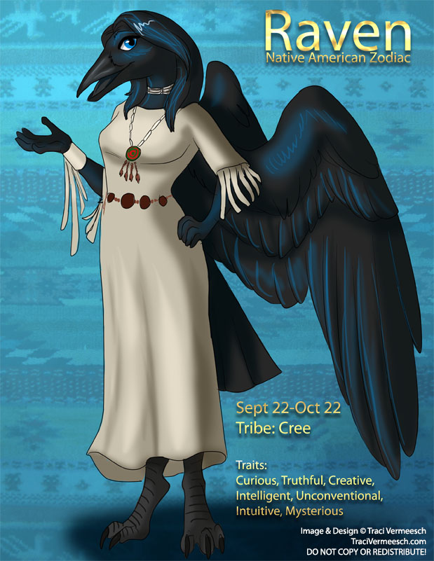 838c0f609 Character Design] Native American Zodiac: Raven by Ulario on DeviantArt