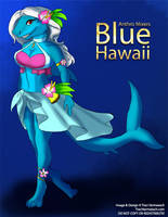 [Anthro Mixers] Blue Hawaii by Ulario