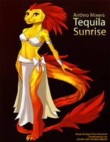 [Anthro Mixers] Tequila Sunrise by Ulario