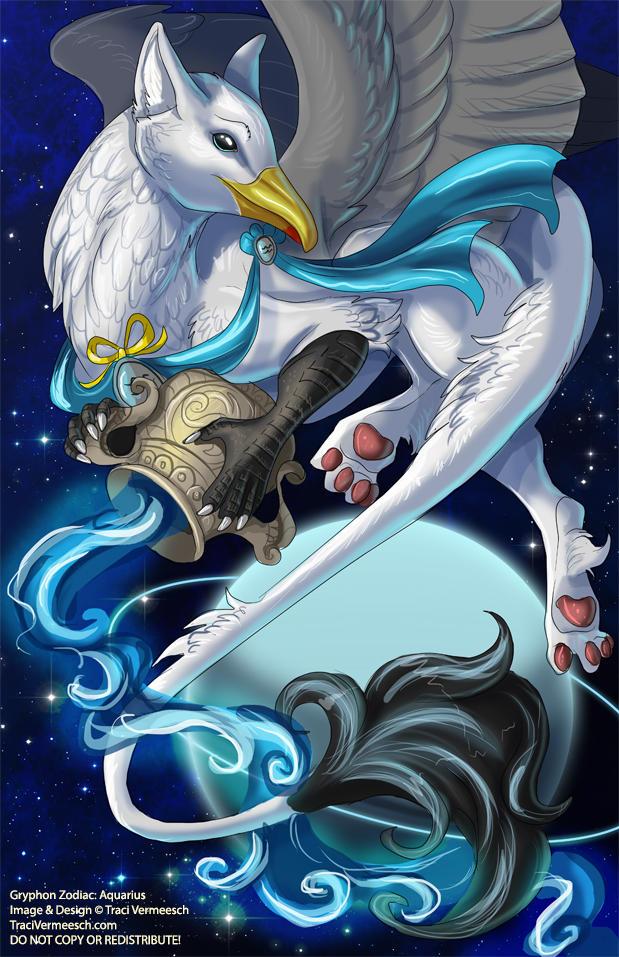 [Gryphon Zodiac] Aquarius
