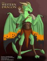 [Mythological May] Day 1 - Western Dragon by Ulario
