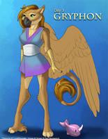 [Mythological May] Day 3 - Gryphon by Ulario