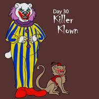 [Halloween Advent] Day 30 - Killer Klown by Ulario