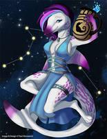 [Heavenly Anthros] Aquarius by Ulario