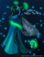 Dark Advent] Day 26 - Willow The Wisp by Ulario