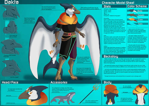[Personal] Dakta - Character Sheet