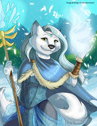 [Witchy Anthros] Winter Witch by Ulario