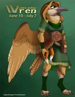 [Celtic Zodiac] Wren by Ulario