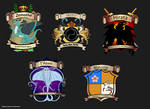 [Personal] Athenian Nobility Crests by Ulario