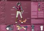 [Personal] Lady Jae - Character Sheet by Ulario