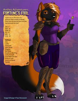[Anthro Adventurers] Fortune's Fool