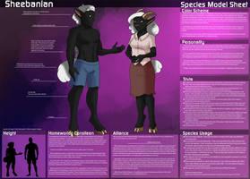 [Personal] Sheebanian - Species Sheet Remake
