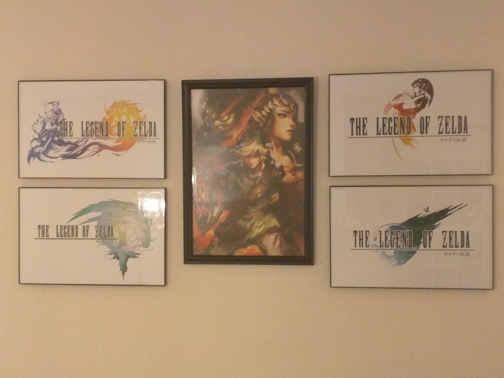 Zelda Wall Decoration : Zelda framed by crimsonrhallic on deviantart