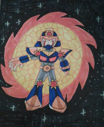 Megaman Fanart: SRN:000 Sunstar by XXIDaWorld