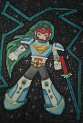 Megaman fanart: SRN: 001 Terra by XXIDaWorld