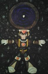 Megaman fanart: SRN: 006 Saturn by XXIDaWorld