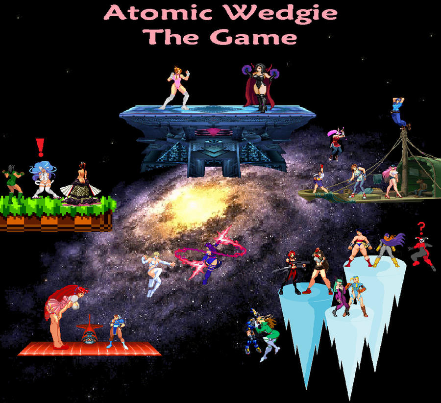 Atomic Wedgie The Game by megayolk