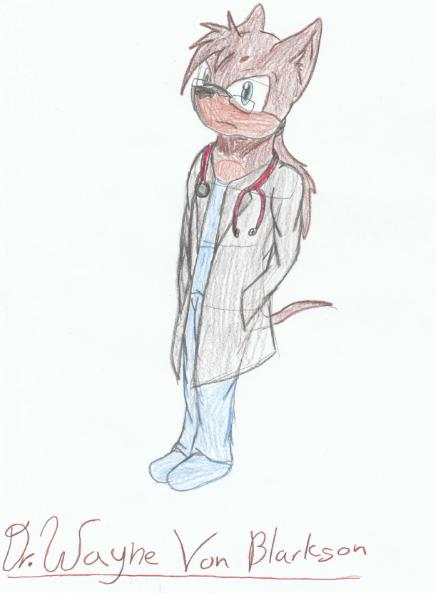 Dr. Wayne Von Blarkson by Mighty-C-amurai
