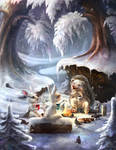 Winter campfire stories by Haizy