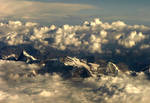 Alps and Clouds by stefanpriscu