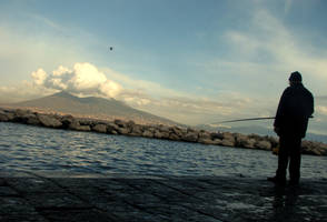One Napolitane Fisherman by stefanpriscu