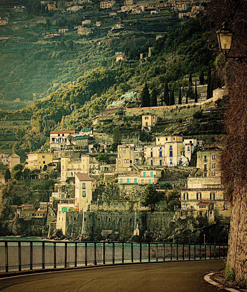 Beauty Of Amalfi Coast  1 by stefanpriscu