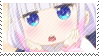Maid Dragon Stamp - Kanna Oooh! by ManaManami