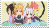 Maid Dragon Stamp - Tiny Dragons by ManaManami
