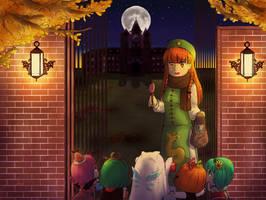 Spooky holidays!! by ManaManami