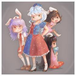 Eientei Medical Squad by ManaManami