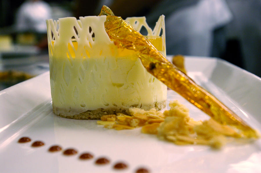Cheese Mousse with Apple Gelee by chiziwhiteafrican