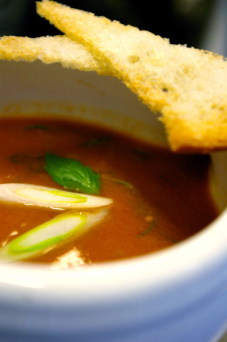 Roasted Tomato Soup by chiziwhiteafrican