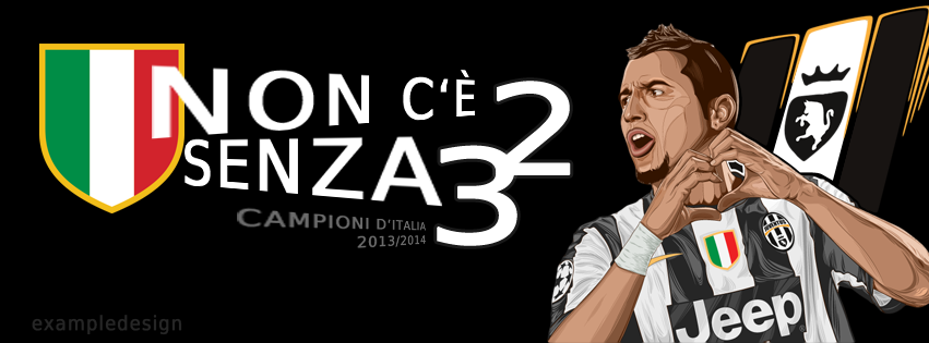 Juvex3 Siamo Campioni - Banner FB by exampledesign