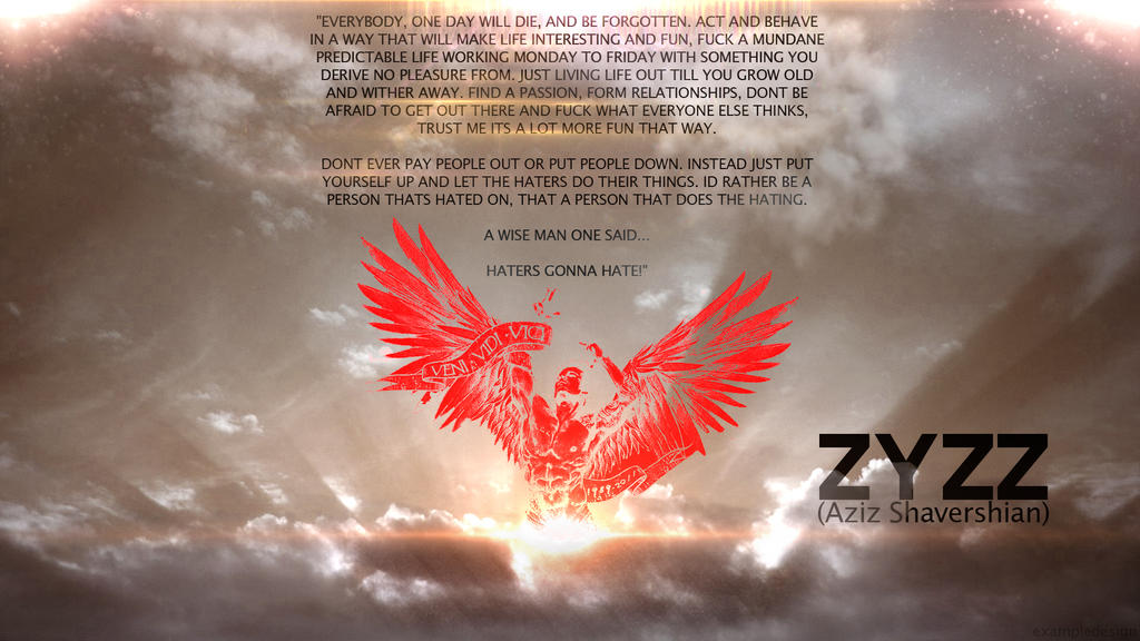 Zyzz Tribute v2 by exampledesign