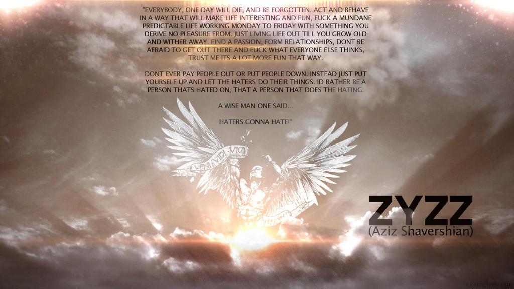 Zyzz Tribute v3 by exampledesign
