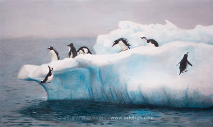 Seven Penguins 2019 by ArielRGH