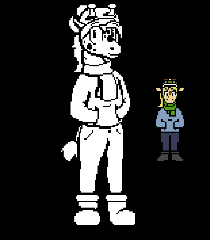 Undertale-Style Sprites by ccscribbles on DeviantArt