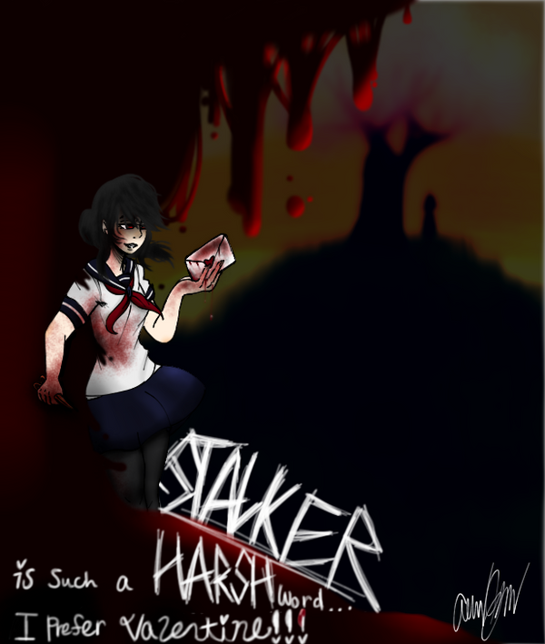 Happy V Day Yandere! by MadhouseFunhouse