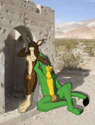 In The Desert by Resafandrab
