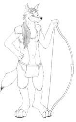 Coyote Archer by Resafandrab