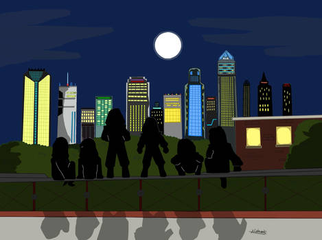 TSS : Dawn of Heroic - City Watch Poster