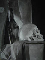 Charcoal Study 3 by isjusterin